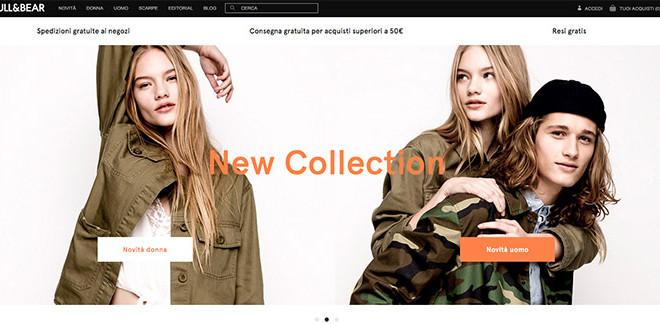 Pull&Bear: Perchè comprare sullo store online?