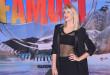 Alessia Marcuzzi e Outfit: Rock Punk Isola dei Famosi 2016