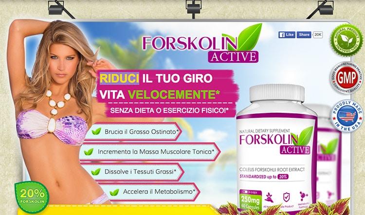 dieta di perdita di peso forskolina