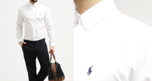 Camicia da Uomo Ralph Lauren Bianca