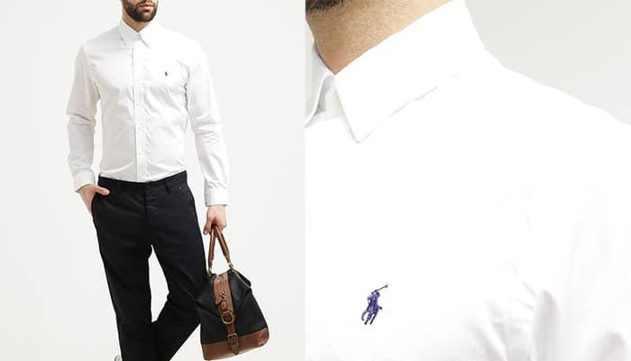 premium selection ca6e9 813ea Camicia da Uomo Ralph Lauren Bianca - Il Mio Guardaroba.it