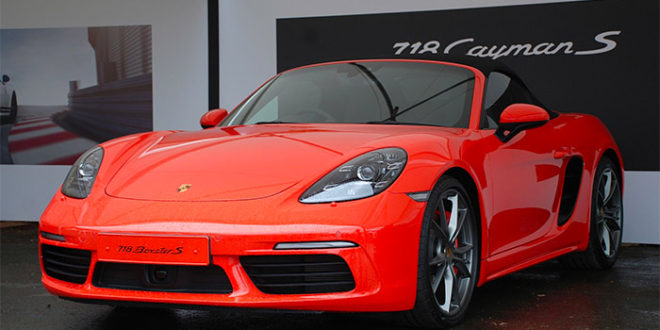 Nuova Porsche 718 Boxster 2016: Lifestyle Auto?