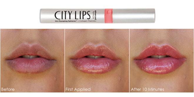 City Lips Pro: Lucidalabbra Volumizzante Per Labbra: Funziona?
