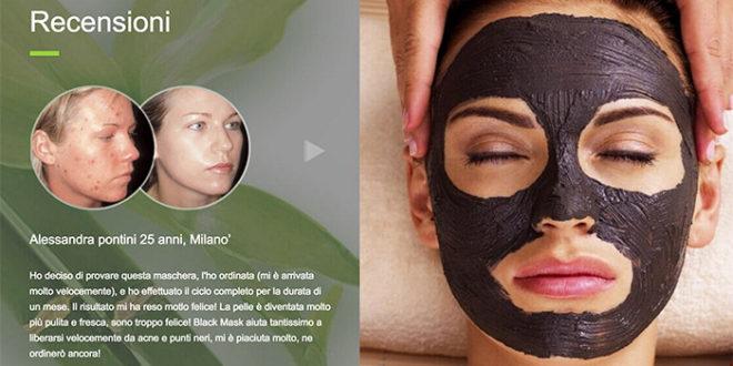 Black Mask: Maschera Professionale Per la Pulizia del Viso: Funziona?