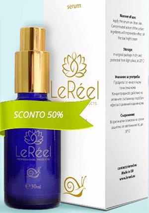 LeRéel - Crema Anti età alla bava di lumaca