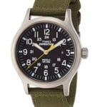 Orologio Timex Nero Cinturino Nylon Verde