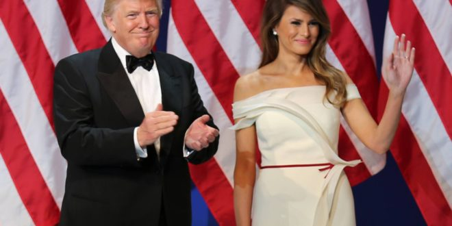 Outfit Melania Trump 2017