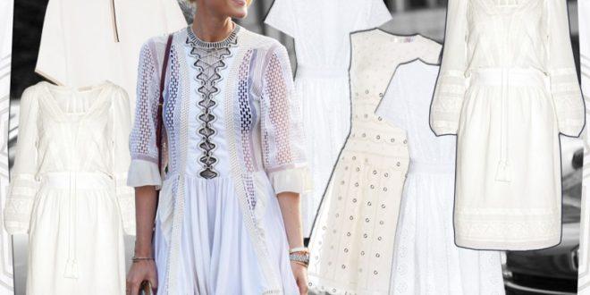 Robe Blanche: I Vestiti Bianchi Più Belli, Estate 2017