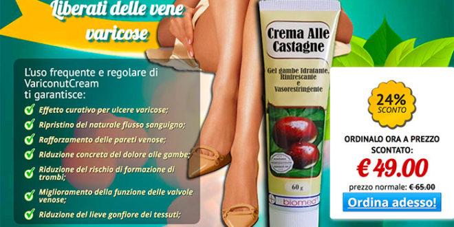 Opinioni Variconut Crema Per le Vene Varicose: Funziona?