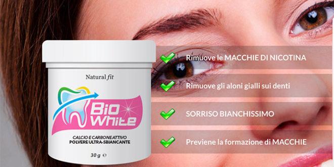 BioWhite Dentifricio Sbiancante Calcio e Carbone Attivo