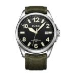 burei orologio unisex analogico luminoso militare