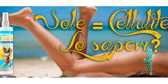 SiSnella Formula Estate: La Cellulite si Scioglie al Sole?