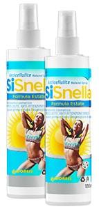 SiSnella Formula Estate: Spray Anticellulite