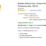 bionike defence sun crema minerale solare spf 30