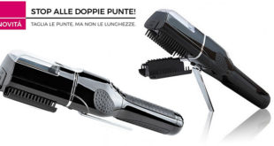 Come Eliminare le Doppie Punte: Piastra Luxury Hair System