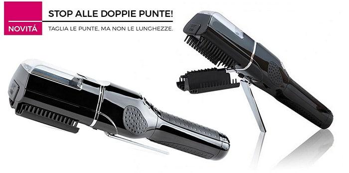 Come Eliminare le Doppie Punte: Piastra Luxury Hair System