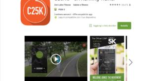 c25k app per correre opinioni e programma