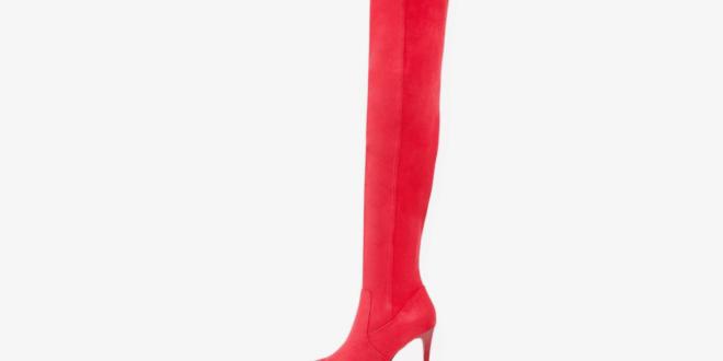 stivali rossi e kinki boots trend 2018