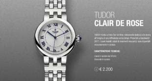 orologio da polso tudor clair de rose