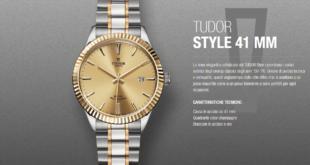 orologio da polso tudor style