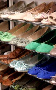 come organizzare le scarpe