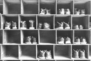 organizzatore di scarpe